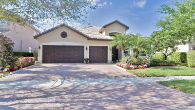 Delray Beach Single Family Home For Sale: 9806 Napoli Woods Lane