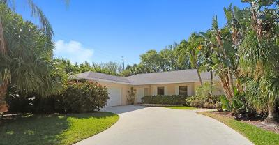 North Palm Beach Single Family Home For Sale: 2510 Pepperwood Circle