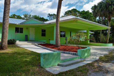 Fort Pierce Single Family Home For Sale: 21100 Glades Cut Off Road