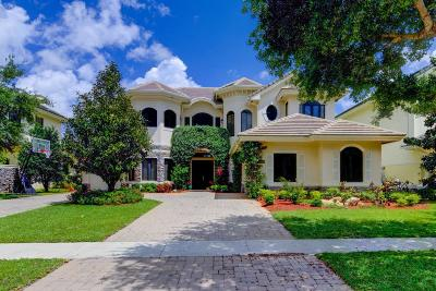 Boynton Beach Single Family Home For Sale: 8984 Three Rail Drive