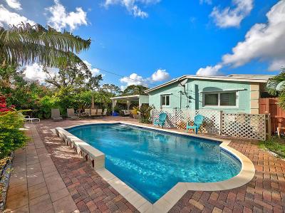 West Palm Beach Single Family Home For Sale: 1036 Hansen Street