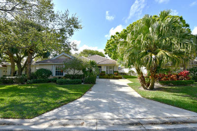Palm Beach Gardens Single Family Home Contingent: 239 Kelsey Park Circle