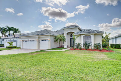 Port Saint Lucie Single Family Home Contingent: 2012 SE Kilmallie Court