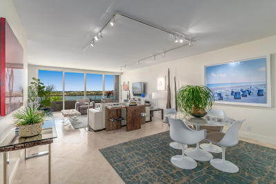 West Palm Beach Condo Sold: 525 S Flagler Drive #8c