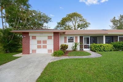Delray Beach Single Family Home For Sale: 13313 Via Vesta #A