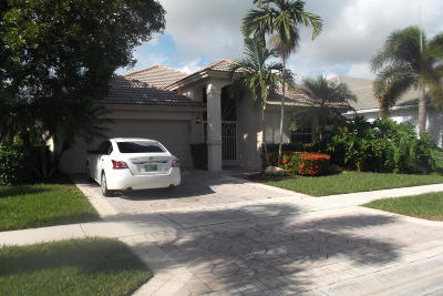 Lake Worth, Lakeworth Single Family Home Contingent: 5497 Fountains Drive S
