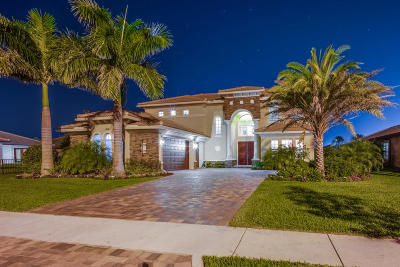 Jupiter Single Family Home For Sale: 404 Rudder Cay Way