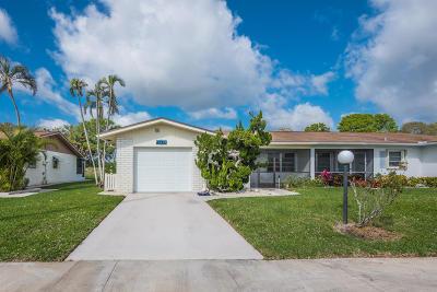 delray beach Single Family Home For Sale: 13379 Via Vesta #A