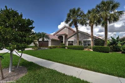Boynton Beach Single Family Home For Sale: 7359 Sterling Falls Lane