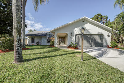 Port Saint Lucie FL Single Family Home For Sale: $284,888