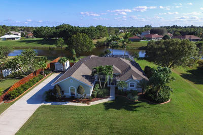 Port Saint Lucie Single Family Home For Sale: 139 SW Gettysburg Drive