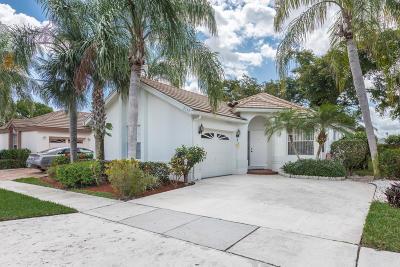 Boynton Beach Single Family Home For Sale: 6153 Bay Isles Drive