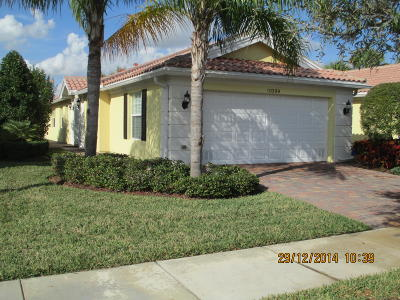 Port Saint Lucie Single Family Home For Sale: 10399 SW Stratton Drive S
