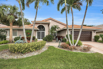 Boynton Beach Single Family Home For Sale: 7098 Falls Road E