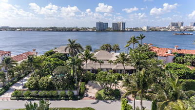 Palm Beach Single Family Home For Sale: 555 Island Drive