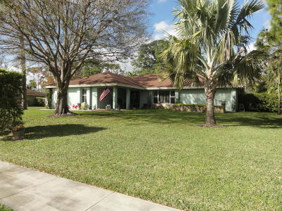 Wellington Single Family Home For Sale: 12053 Old Country Road