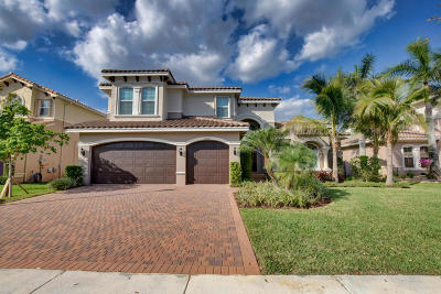 Boynton Beach Single Family Home For Sale: 8139 Viadana Bay Avenue