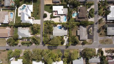 Boynton Beach Single Family Home For Sale: 606 Sunset Road