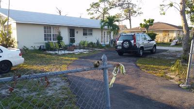 Greenacres Single Family Home For Sale: 141 Broward Street