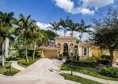 West Palm Beach Single Family Home For Sale: 7190 Tradition Cove Lane E
