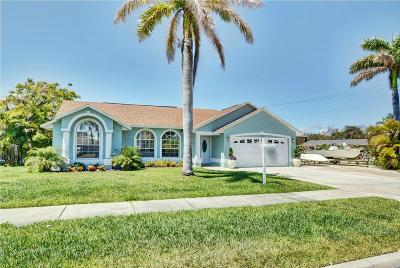 Fort Pierce Single Family Home For Sale: 1390 Bayshore Drive