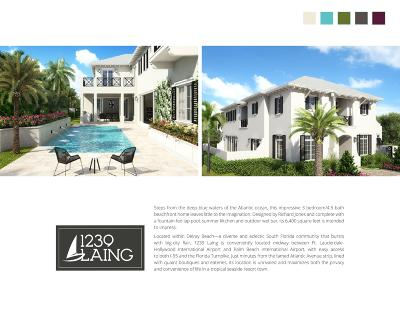 Palm Beach County Residential Lots & Land For Sale: 1239 Laing Street