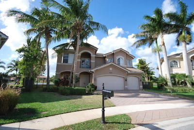 Broward County, Palm Beach County Single Family Home For Sale: 8538 Skybar Lake Cove