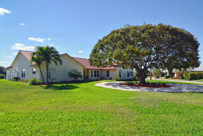 Riviera Beach Single Family Home For Sale: 1261 Gulfstream Way