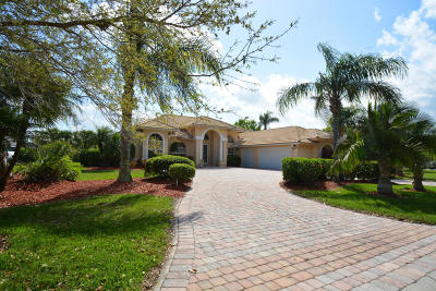 Fort Pierce Single Family Home For Sale: 9521 Laurelwood Court
