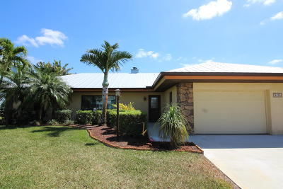 Palm City Single Family Home For Sale: 1454 SW Seagull Way