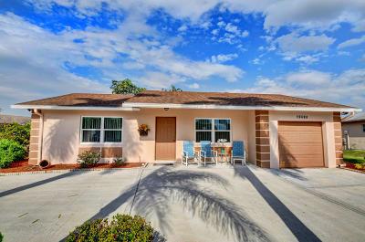 Boca Raton Single Family Home For Sale: 19488 Colorado Circle