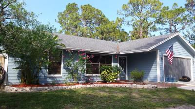 Jupiter Single Family Home For Sale: 10799 157th Street