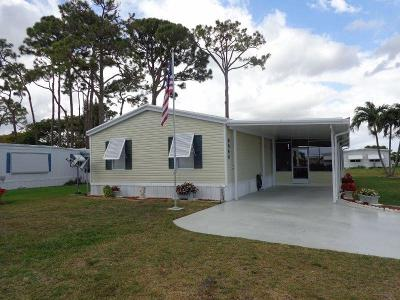 Boynton Beach FL Mobile Home For Sale: $92,900