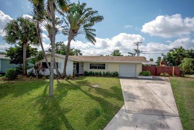 Palm Beach Gardens Single Family Home For Sale: 3698 Daisy Avenue