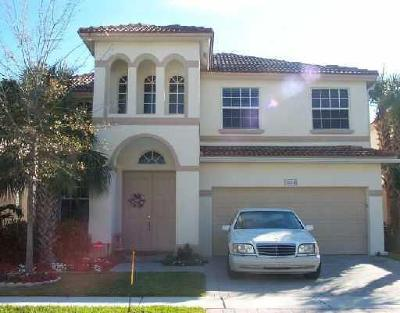 Lake Worth Single Family Home For Sale: 6894 Spider Lily Lane