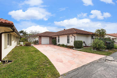 Boca Raton Single Family Home For Sale: 387 Knob Hill Boulevard