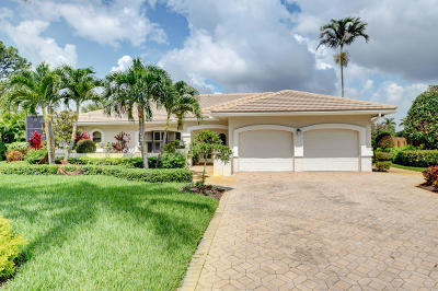 Boynton Beach Single Family Home For Sale: 12139 S Dunes Road