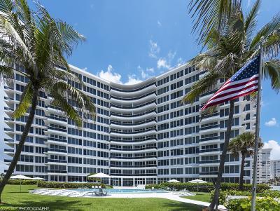 Boca Raton Condo Sold: 700 S Ocean Boulevard #404