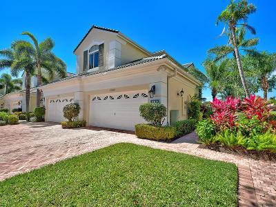 Palm Beach Gardens Condo For Sale: 110 Palm Point Circle #D
