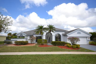 Boca Raton Single Family Home For Sale: 11332 Clover Leaf Circle