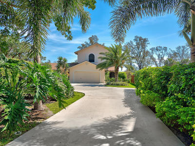Lake Worth, Lakeworth Single Family Home For Sale: 1324 Lakeside Drive