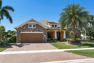 Wellington Single Family Home For Sale: 2957 Siena Circle