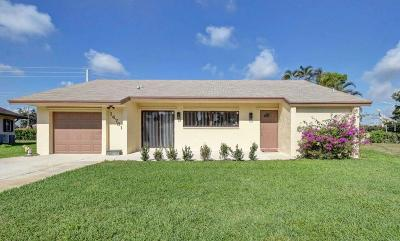Delray Beach Single Family Home Contingent: 14731 Summersong Lane