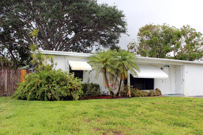 Pompano Beach Single Family Home For Sale: 4041 NE 13 Avenue