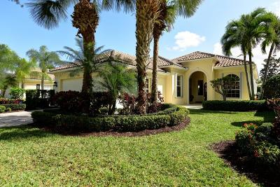 Palm Beach Gardens Single Family Home For Sale: 132 Euphrates Circle