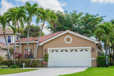 Lake Worth, Lakeworth Single Family Home For Sale: 6322 Breckenridge Circle