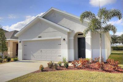 Port Saint Lucie Single Family Home For Sale: 11356 SW Patterson Street