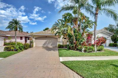 Delray Beach Single Family Home Contingent: 15950 Lomond Hills Trail
