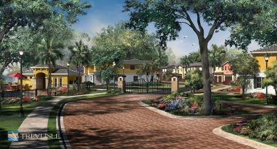 Palm Beach Gardens Townhouse For Sale: 12820 W Trevi Isle Drive Drive W #4