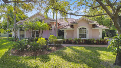 Tequesta Single Family Home Contingent: 9858 SE Buttonwood Way